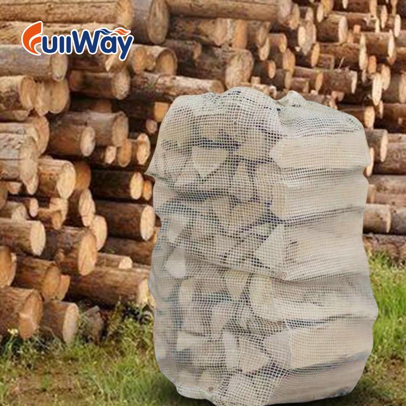 firewood mesh bags